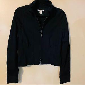 Kenneth Cole fitted blazer jacket size 4, black
